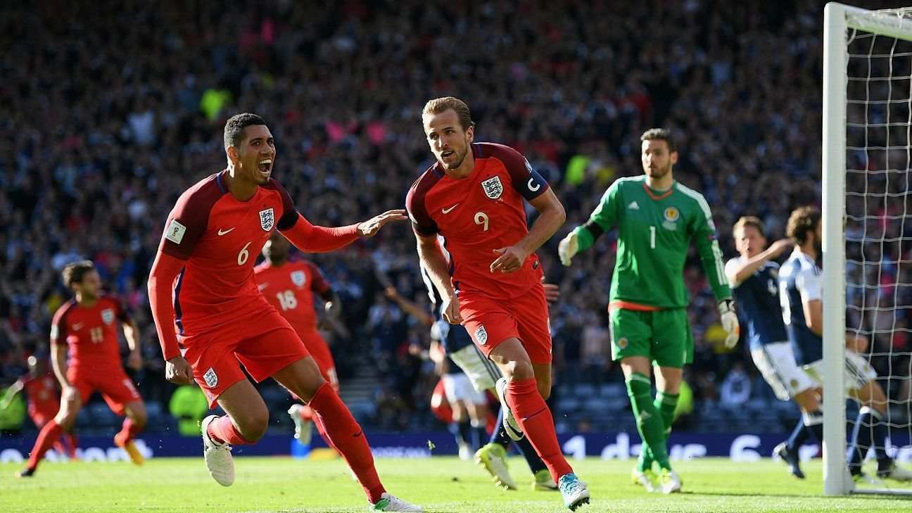 Harry Kane popped up with a late equaliser for England.