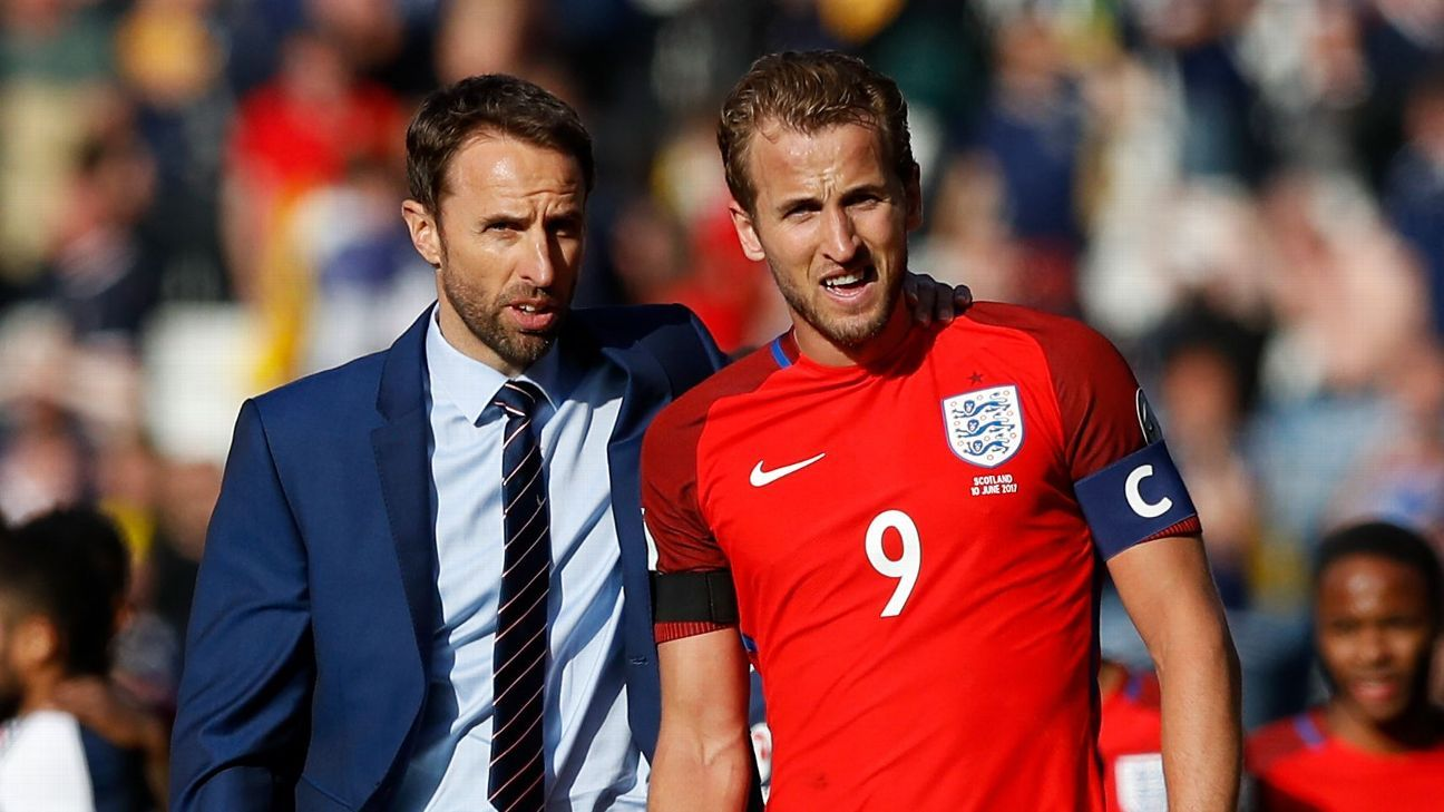 Harry Kane was given the armband for England's games against France and Scotland earlier this year.