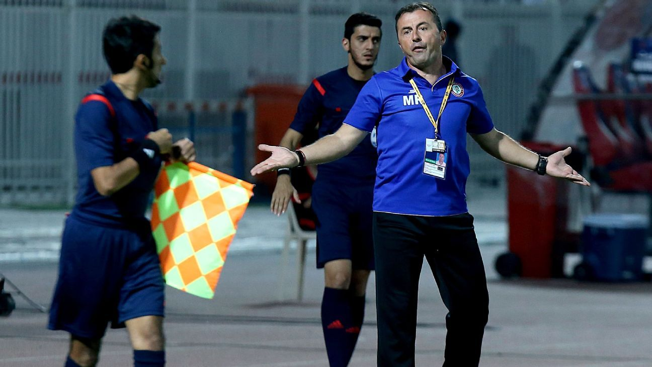 Lebanon coach Miodrag Radulovic