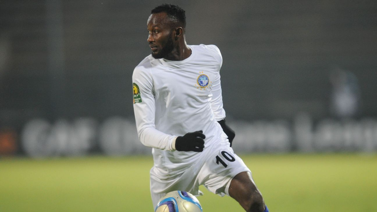 Mfon Udoh in action for Enyimba