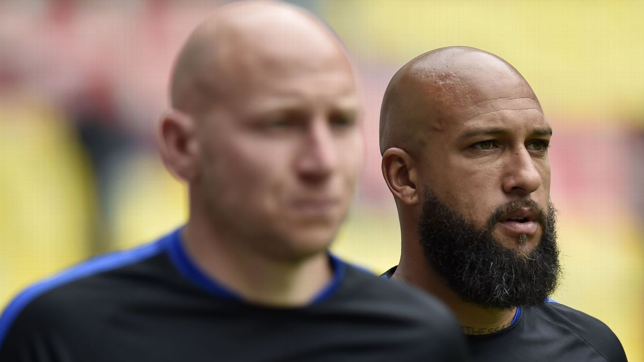 Brad Guzan & Tim Howard