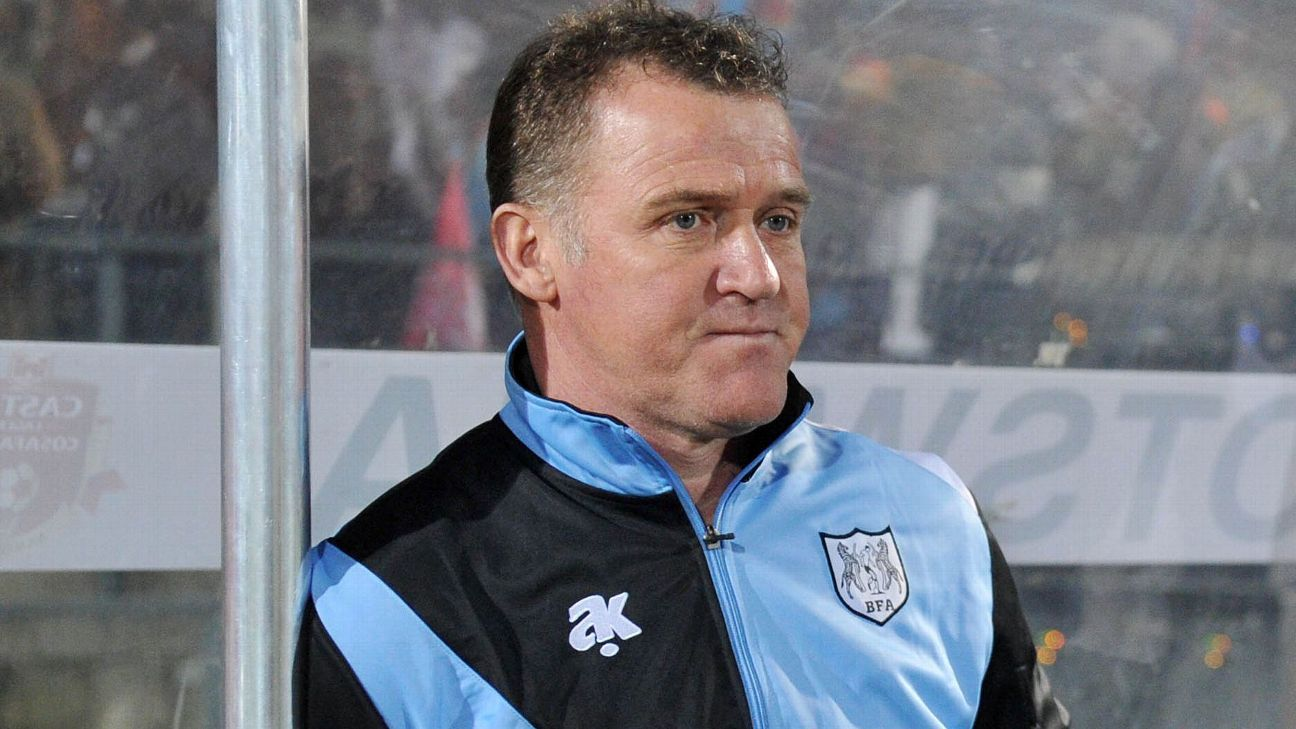 Peter Butler, former Botswana national team coach