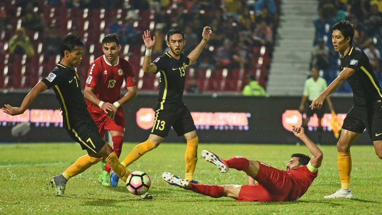 Malaysia vs. Lebanon Asian Cup qualifier