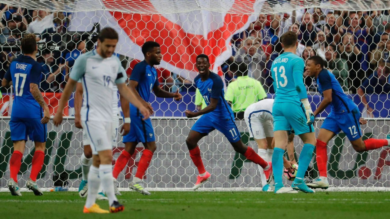 France's win meant woe for England as the 10-man hosts prevailed.