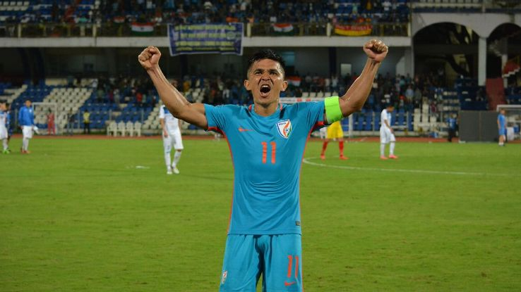 Sunil Chhetri's goal was representative of the transformed state of the Indian team.