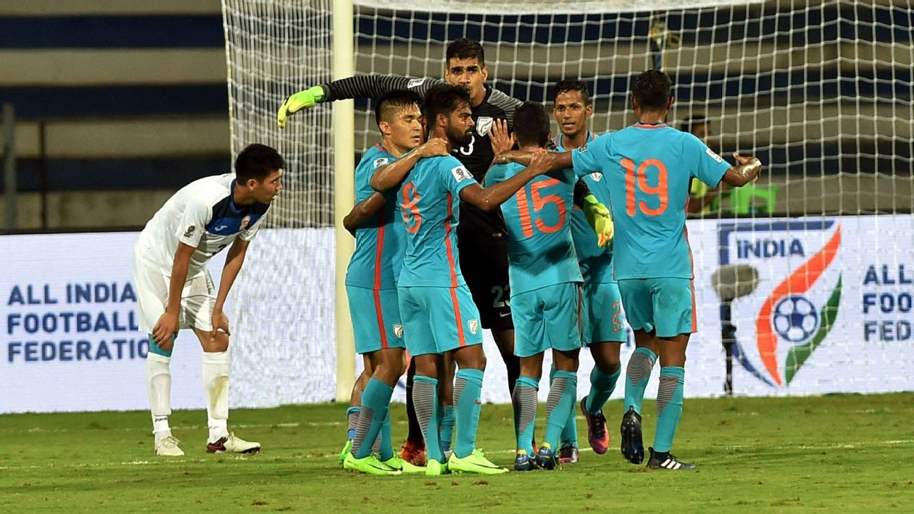 The Indian team was a different side after Stephen Constantine's half-time talk.