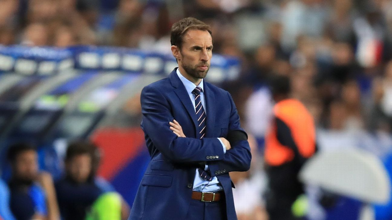 Gareth Southgate is yet to confirm who will captain England at the 2018 World Cup.