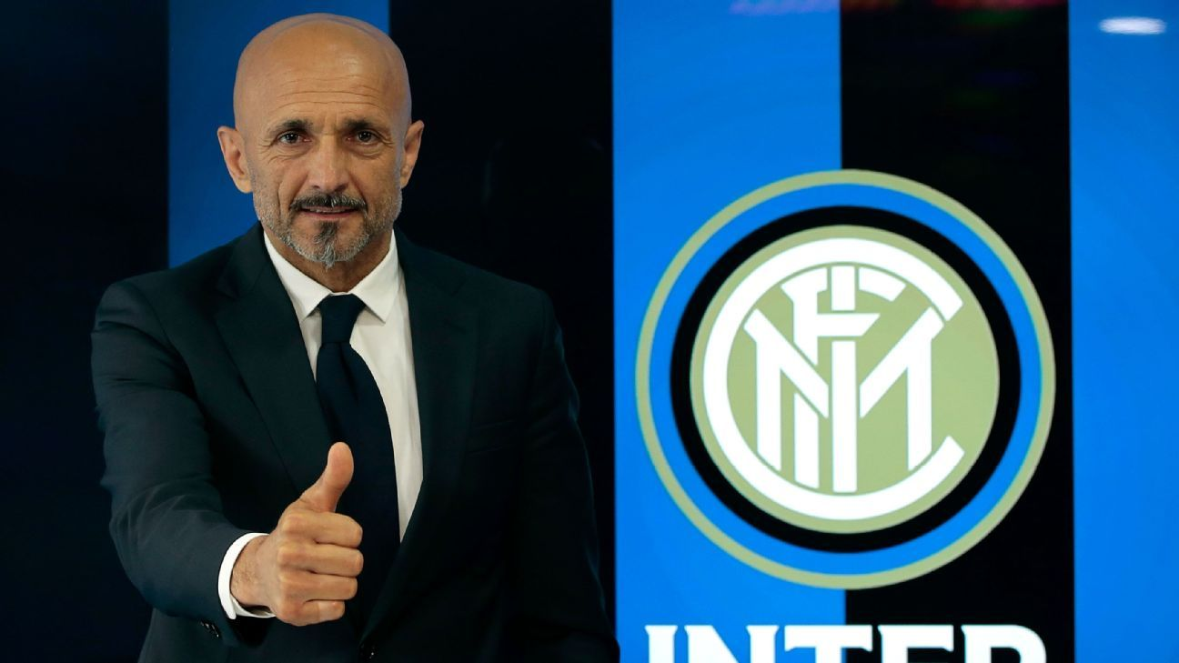 Luciano Spalletti signed a contract with Inter Milan until 2019.