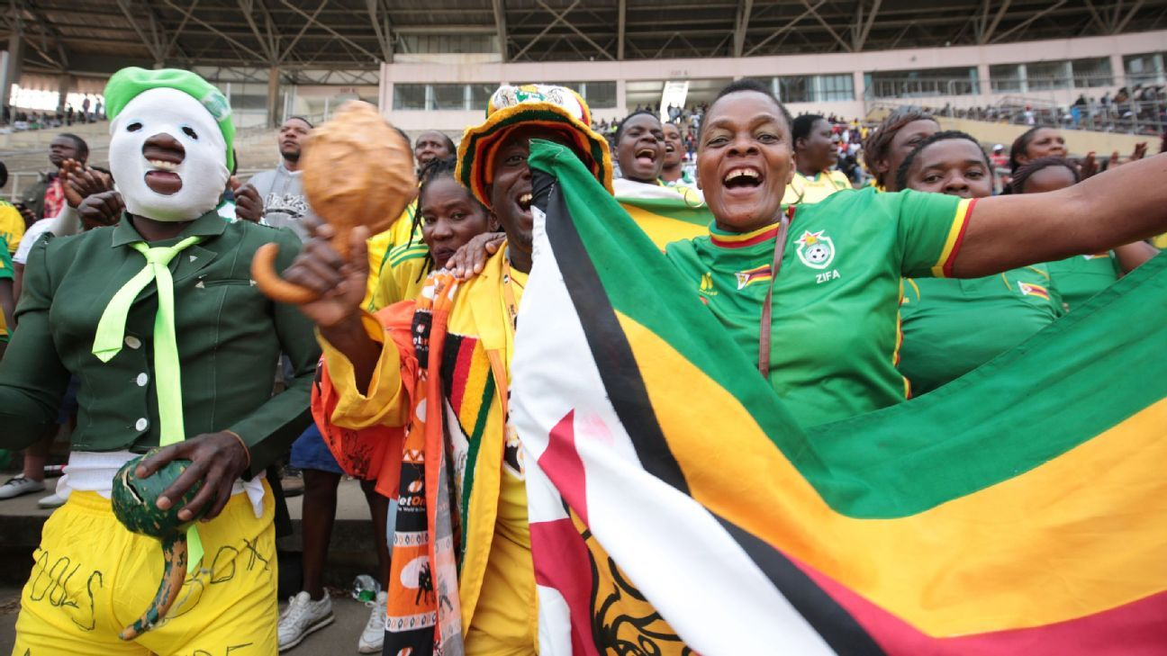 Zimbabwean football fans