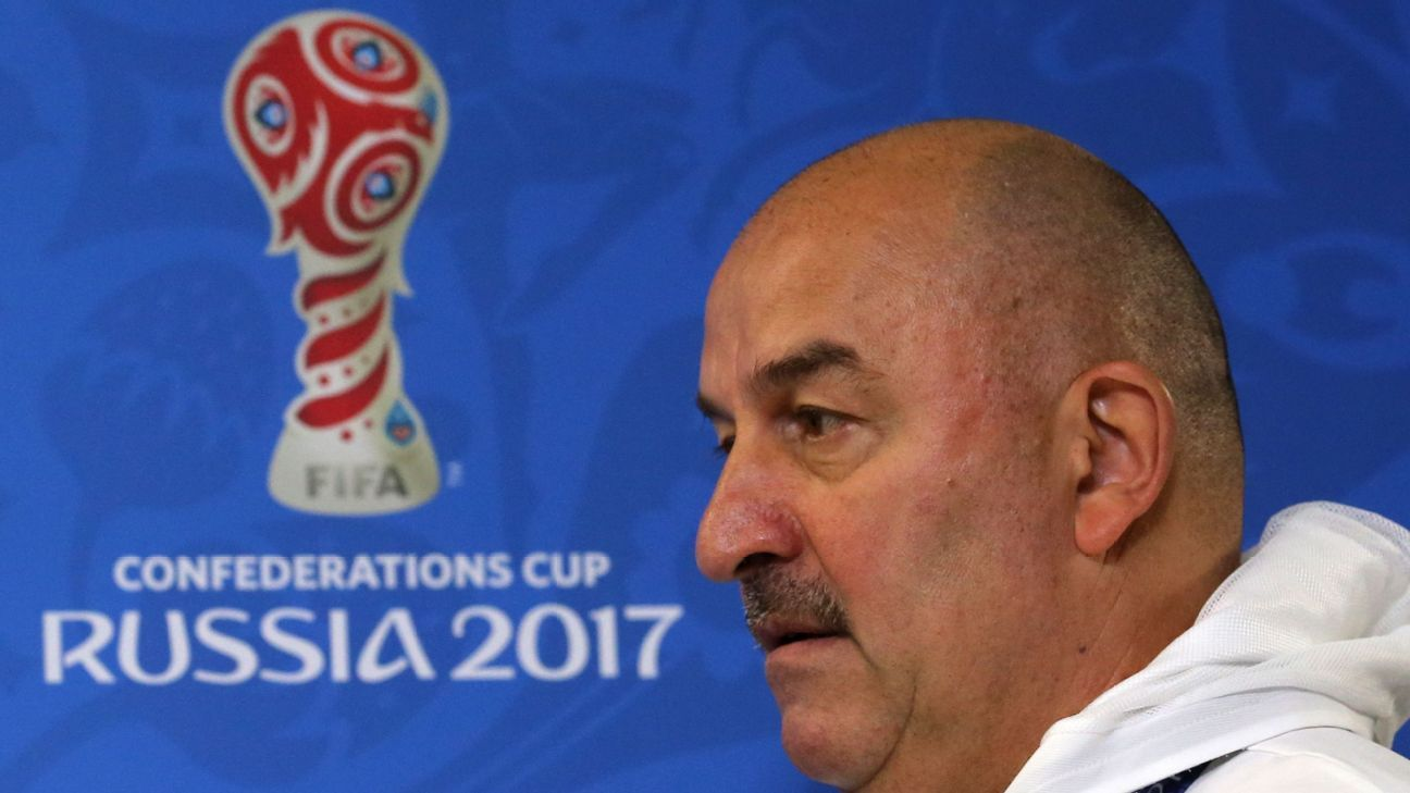Stanislav Cherchesov has led Russia to the knockout stages of the World Cup for the first time as a separate nation.