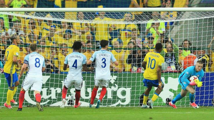 Jordan Pickford's penalty save preserved England's draw.