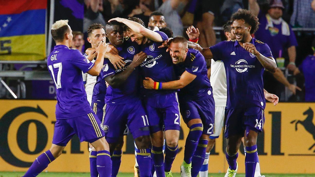 Orlando City SC celebrates