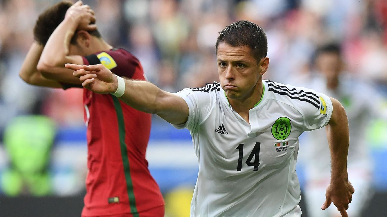 Javier Hernandez has made the most of his soccer inheritance.