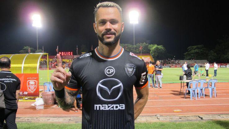 Nakhon Ratchasima striker Paulo Rangel