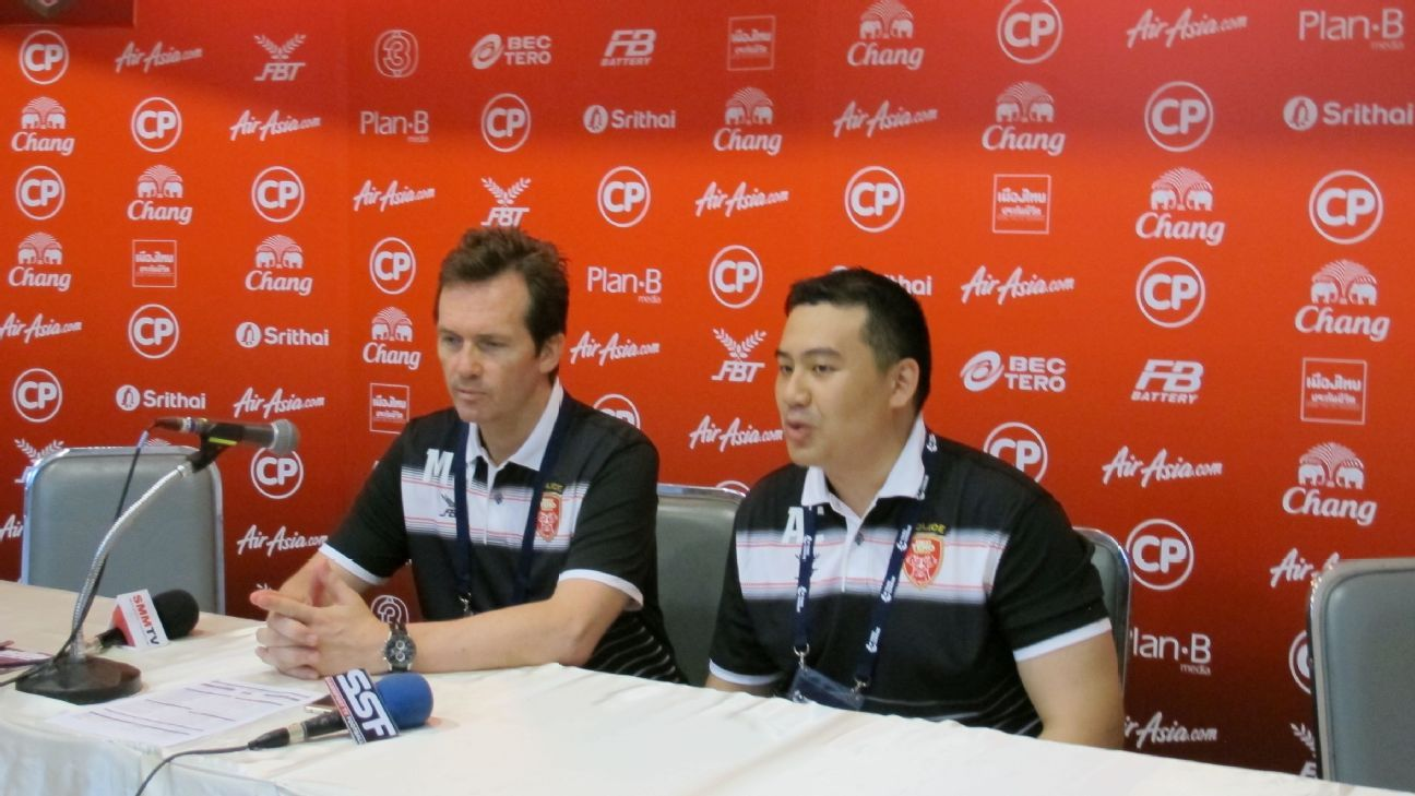 BEC Tero Sasana head coach Mike Mulvey