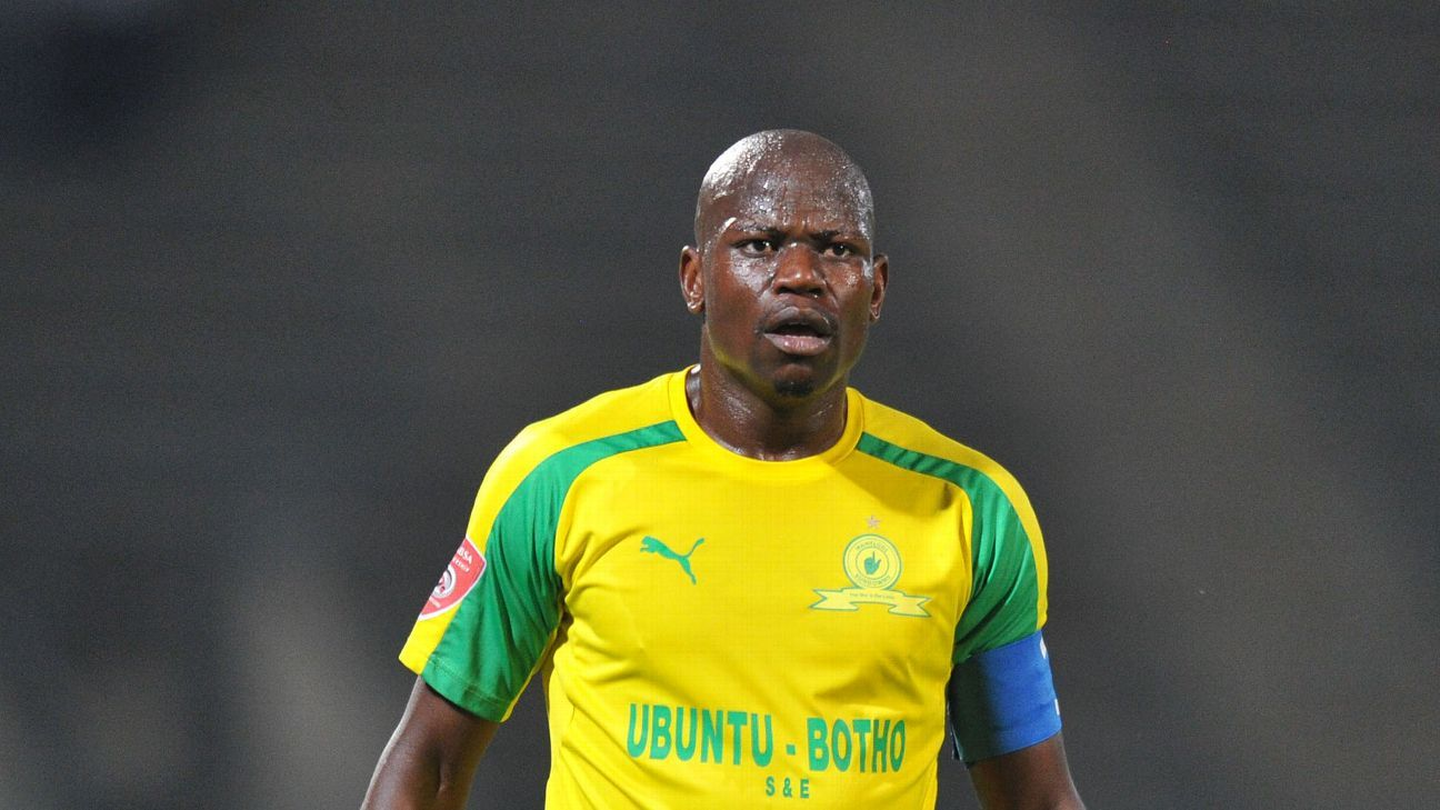 Hlompho Kekana of Mamelodi Sundowns during the Absa Premiership 2016/17 match between Mamelodi Sundowns and Bloemfontein Celtic at Lucas Moripe Stadium, Atteridgeville South Africa.