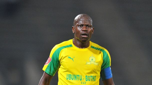 Hlompho Kekana of Mamelodi Sundowns during the Absa Premiership 2016/17 match between Mamelodi Sundowns and Bloemfontein Celtic at Lucas Moripe Stadium, Atteridgeville South Africa.