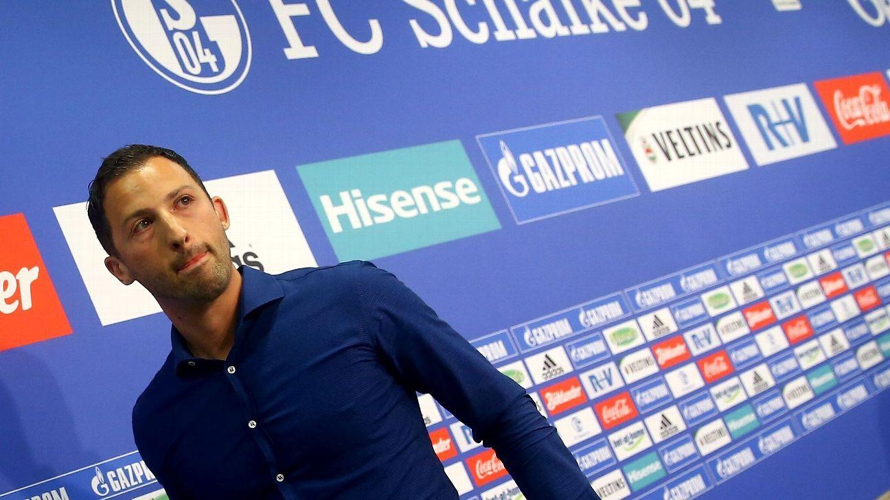 Domenico Tedesco has replaced Marcus Weinzierl at Schalke.