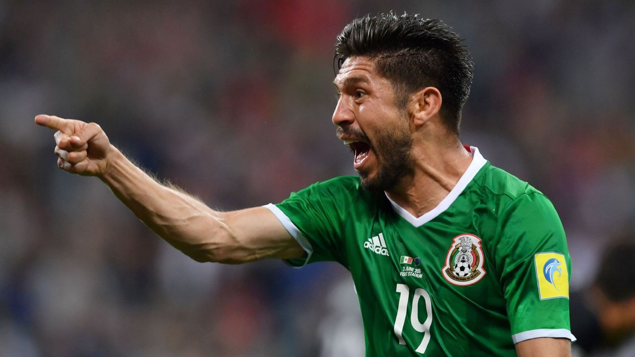 Oribe Peralta fired Mexico to victory over New Zealand on Wednesday.