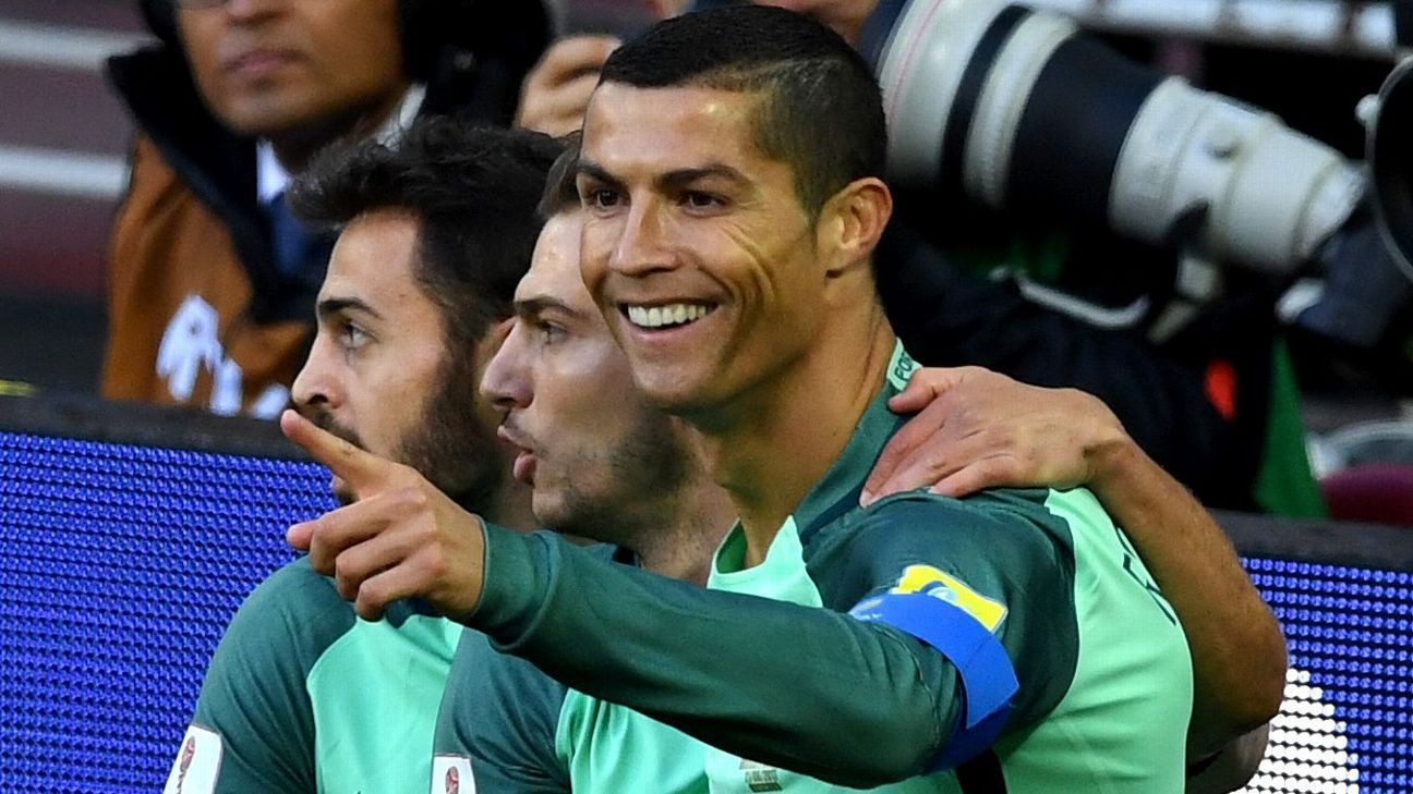 Cristiano Ronaldo didn't disappoint the Russia fans who came to Wednesday's match as much to see the Portugal star as to support the home side.