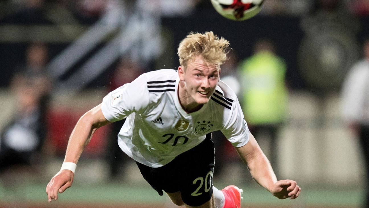 Germany midfielder Julian Brandt