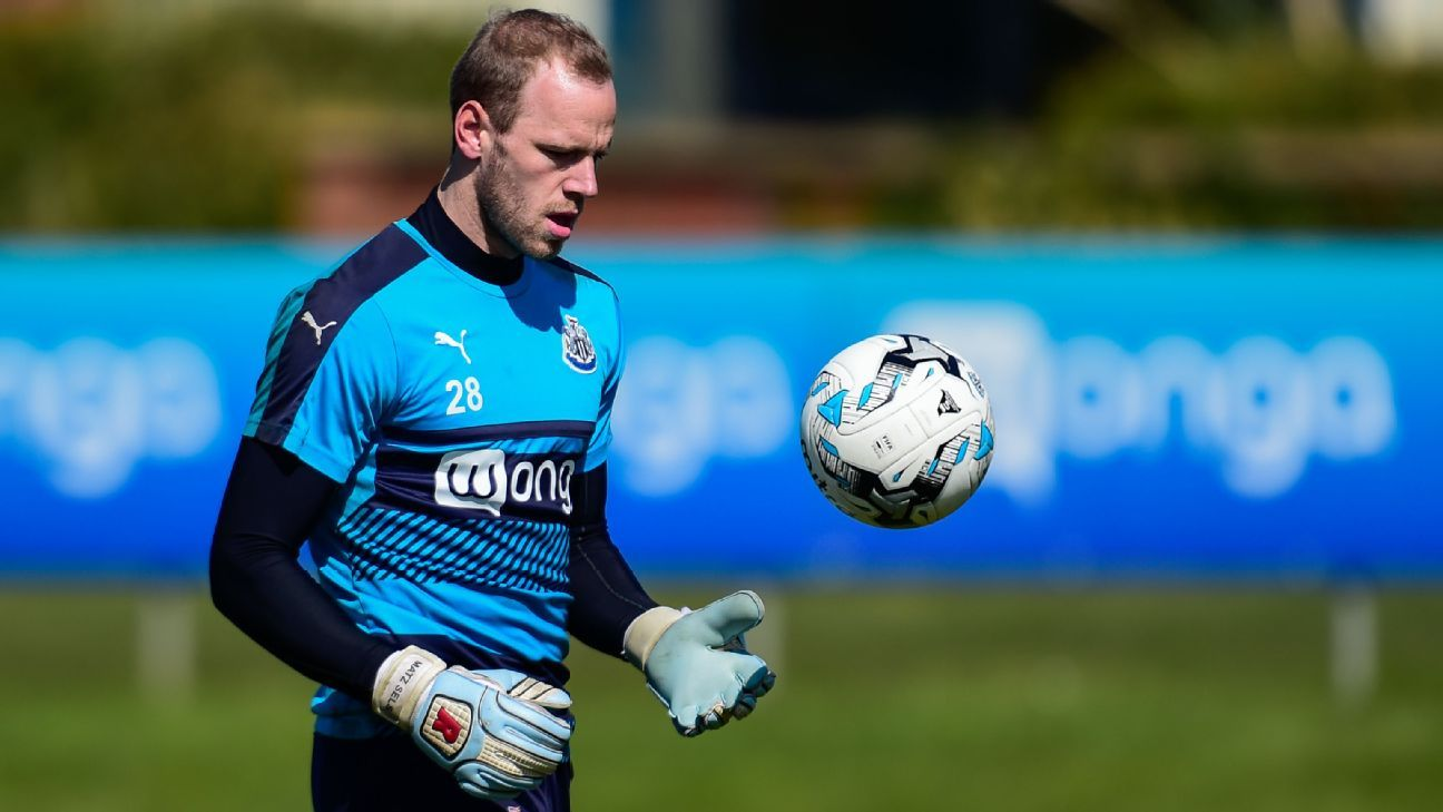 Newcastle goalkeeper Matz Sels loaned to Anderlecht