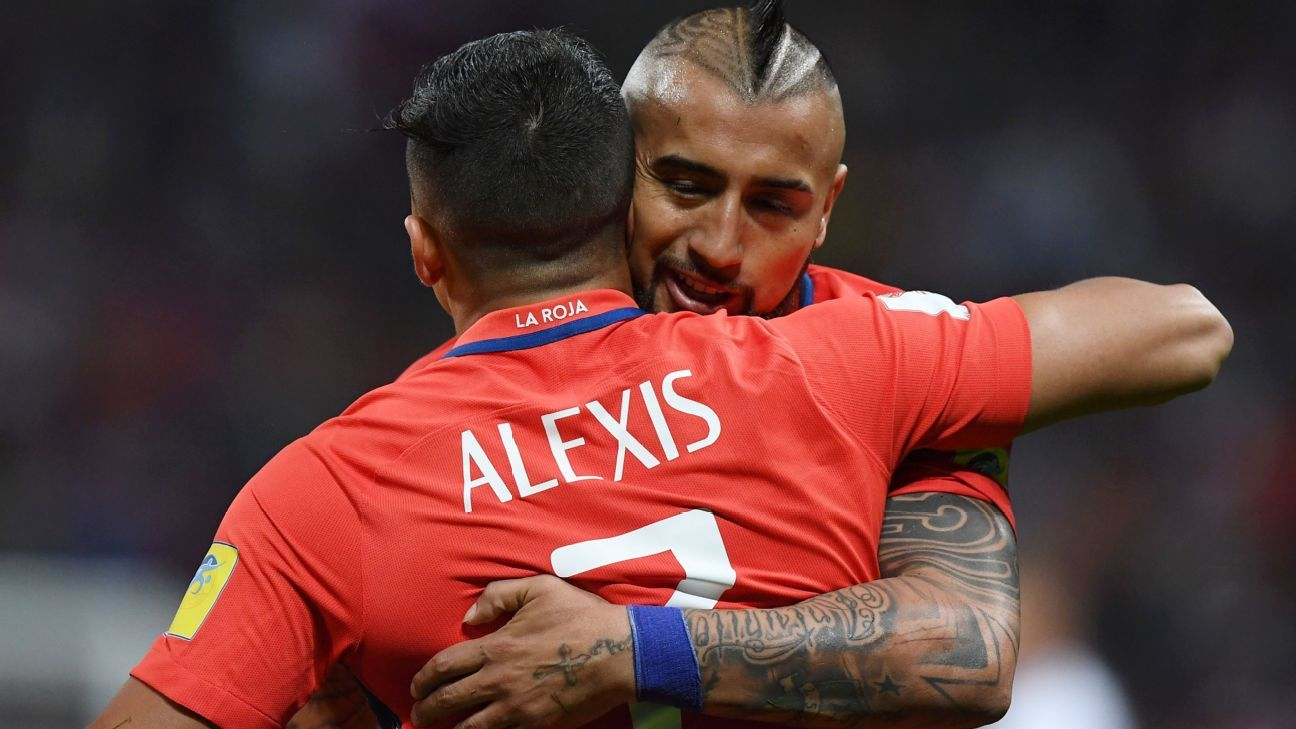 Alexis Sanchez scored his 38th international goal for Chile on Thursday.