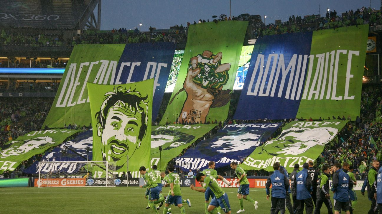 Seattle decades of dominance tifo