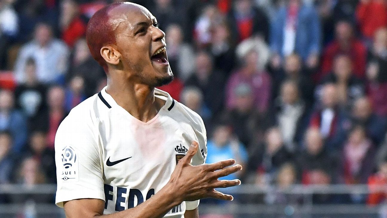 Fabinho helped Monaco win the Ligue 1 title in 2016-17.