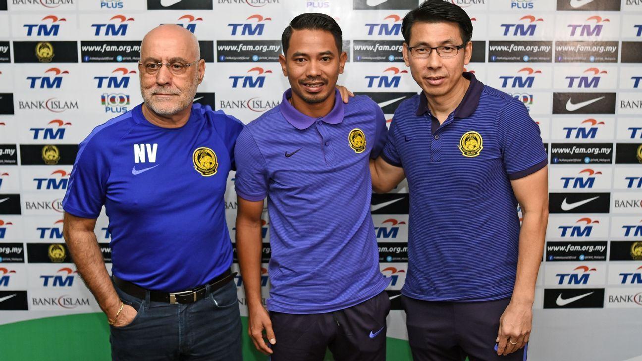 Malaysia's Vingada, Safiq, Tan Cheng Hoe