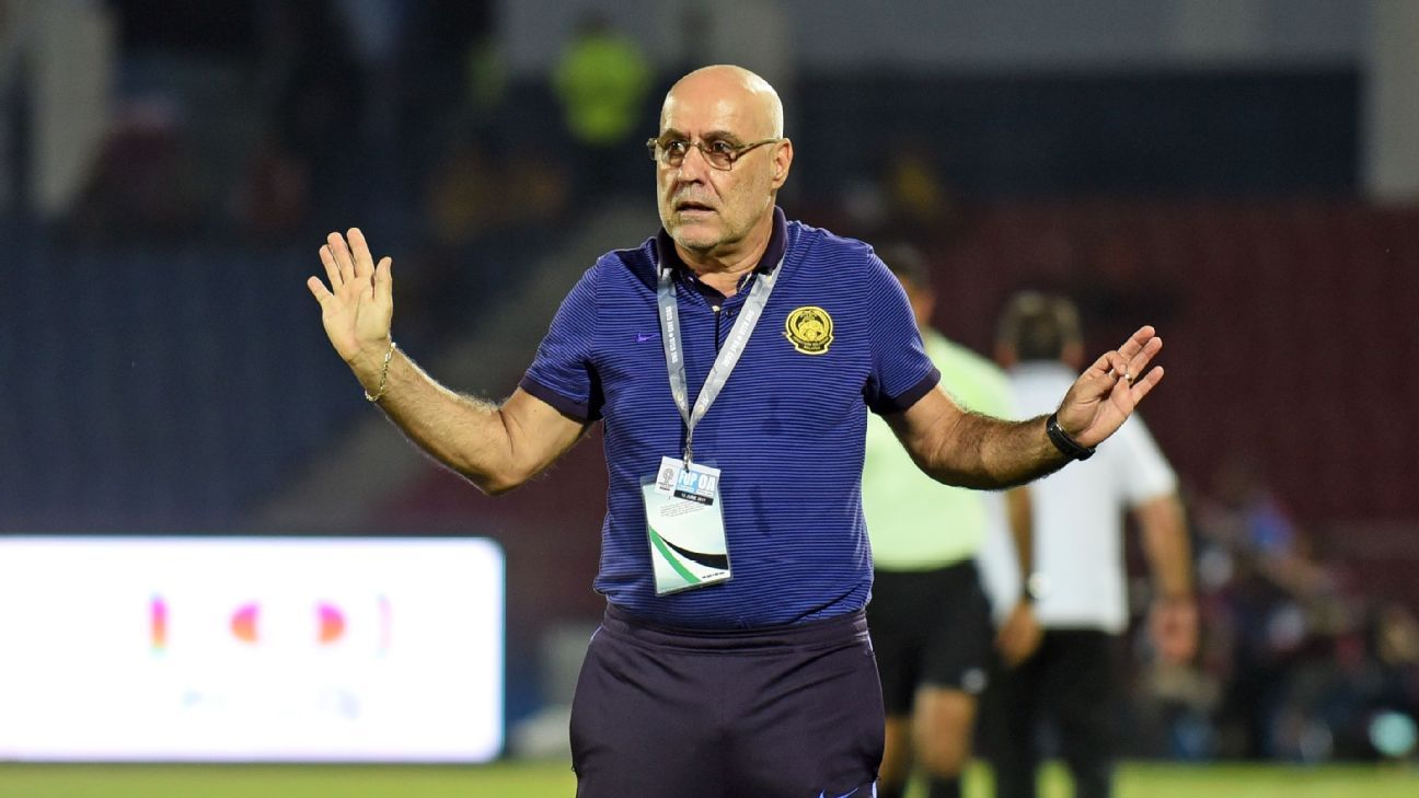 Malaysia national head coach Nelo Vingada