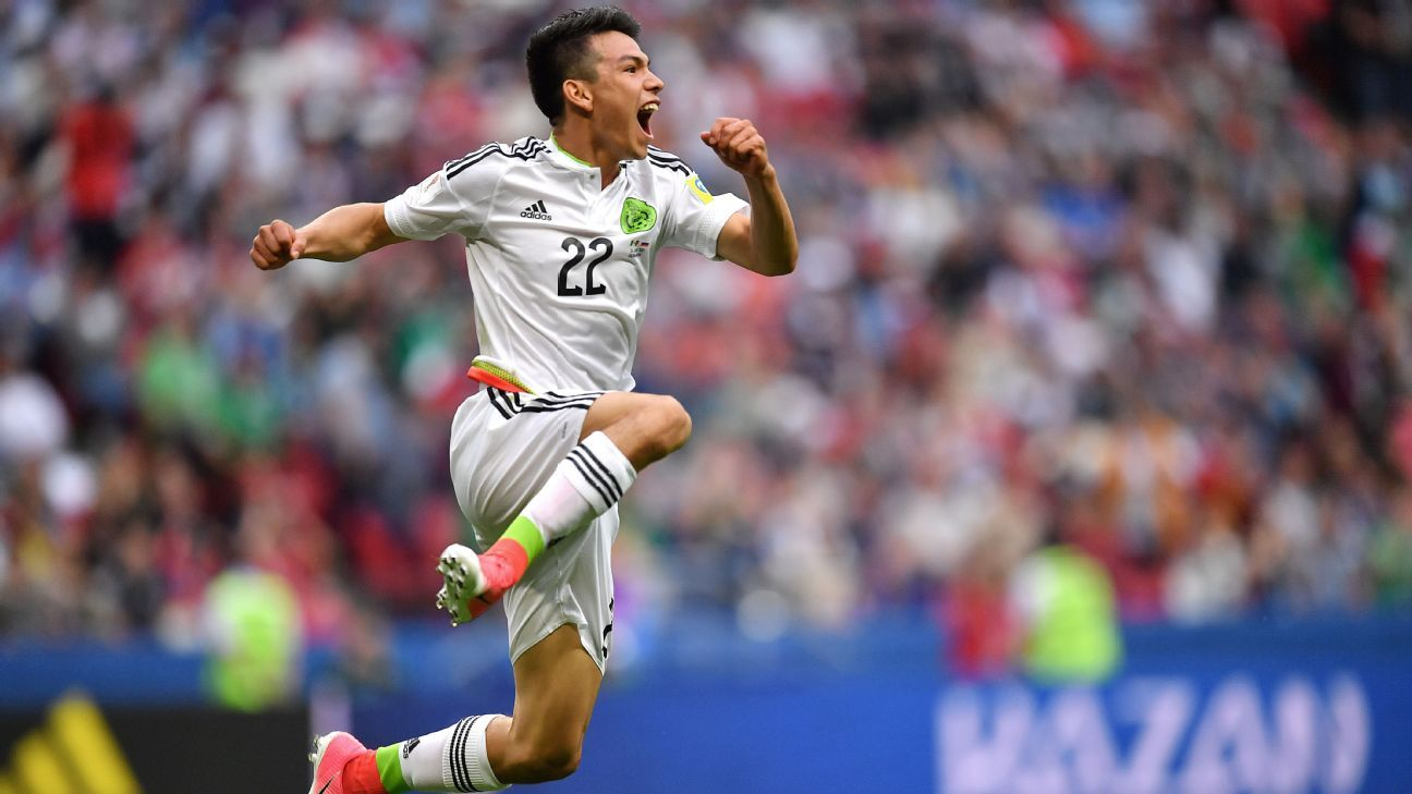 Hirving Lozano scored the winner for Mexico on Saturday.