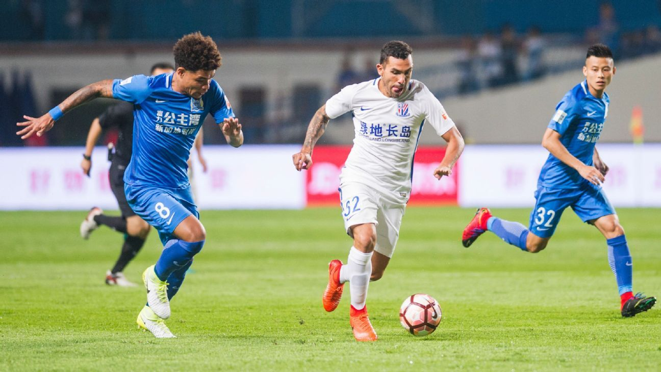 Tevez action Chinese Super League 170624