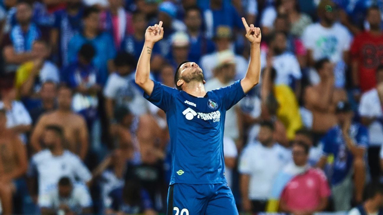 Daniel Pacheco and Getafe are headed back to the Primera Division.