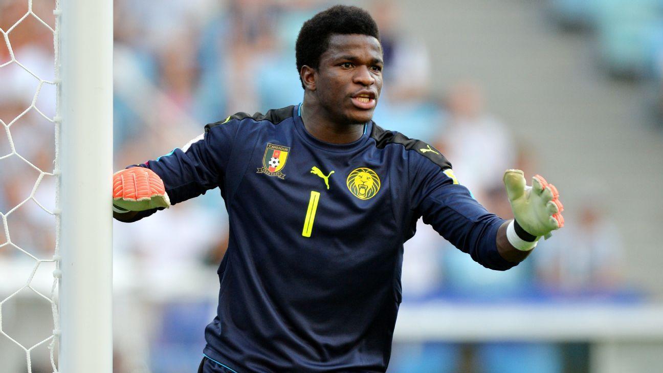 Cameroon's star man, Fabrice Ondoa