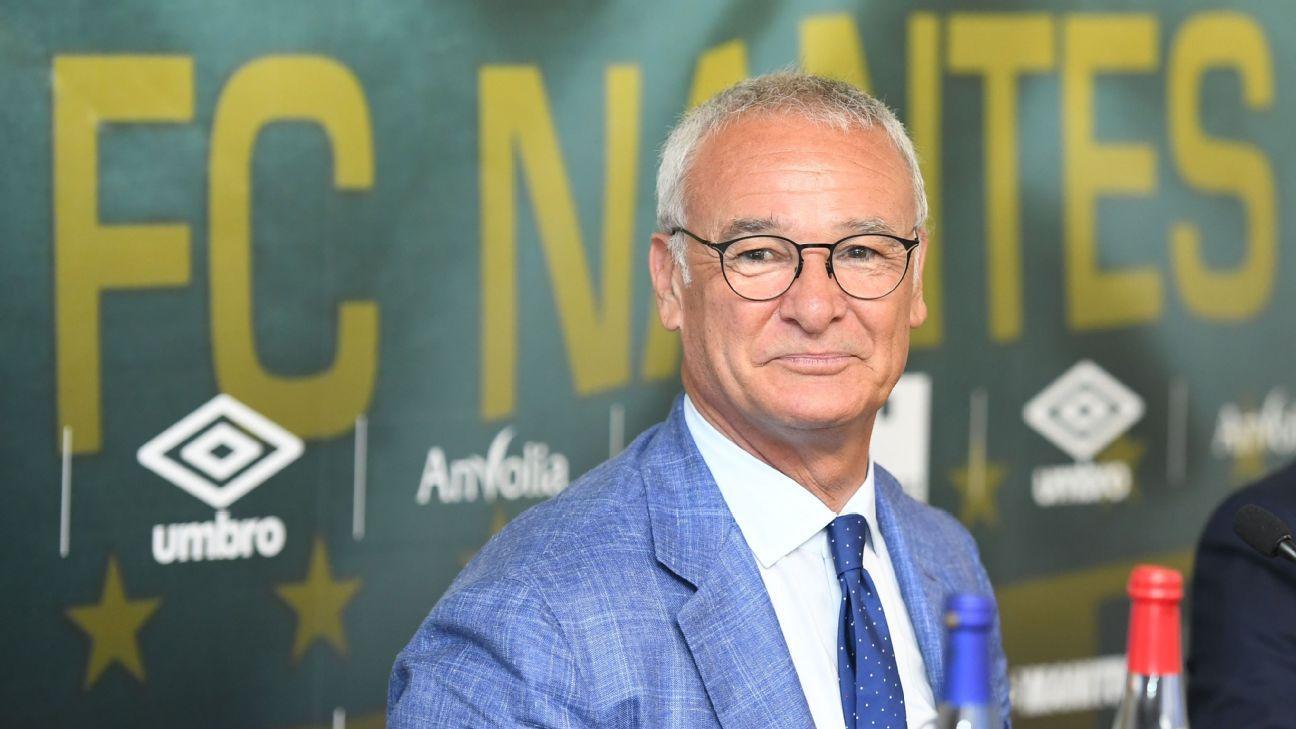 Ranieri unveiling