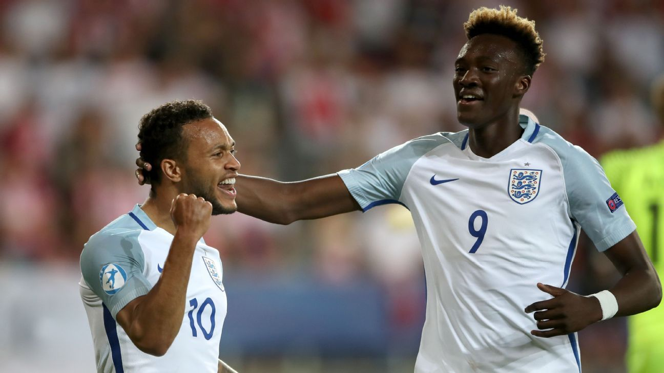 Lewis Baker and Tammy Abraham
