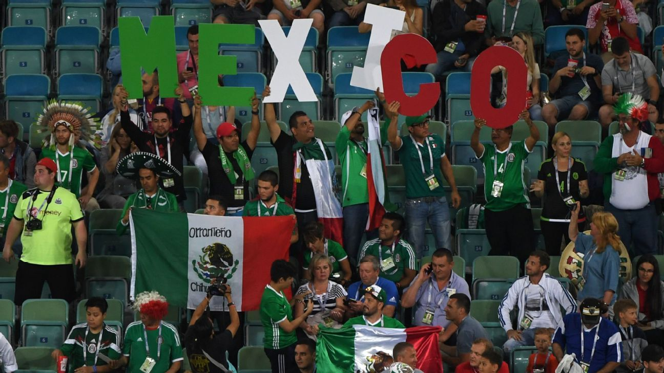 Mexico federation fined again for fans' goalkeeper chant