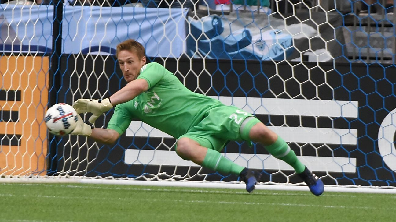 Sporting KC's Tim Melia named MLS Goalkeeper of the Year
