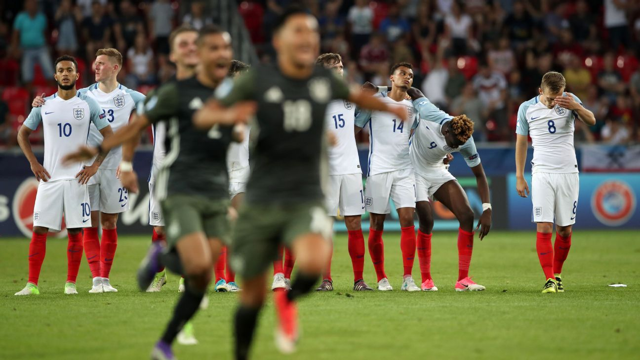 Germany advanced at the expense of England on Tuesday.