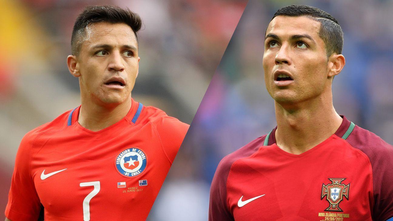 Ronaldo and Sanchez