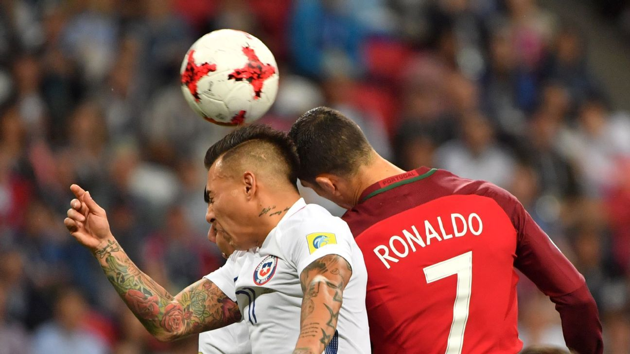 Cristiano Ronaldo & Co. faced a battling Chile side in Wednesday's semi.