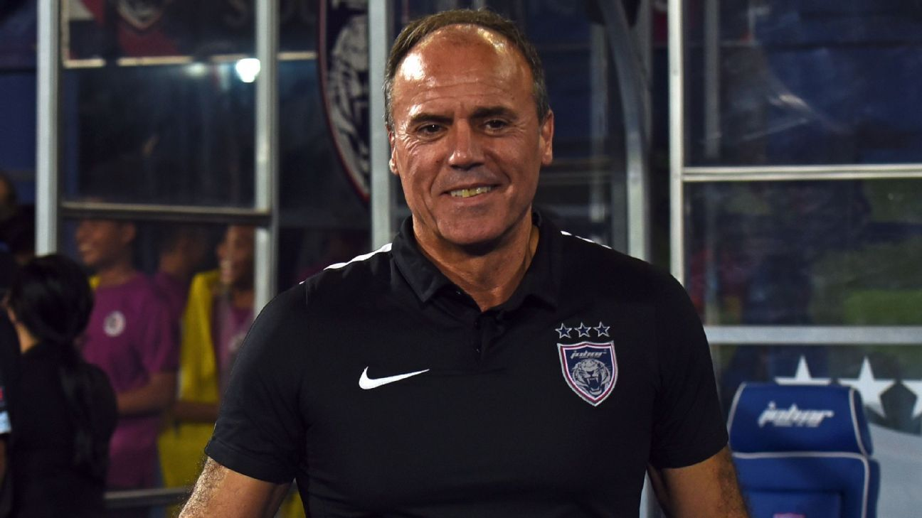 JDT head coach Ulisses Morais
