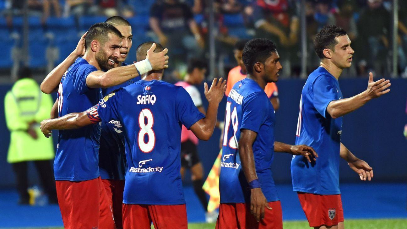 Mohammed Ghaddar scores for JDT v Penang