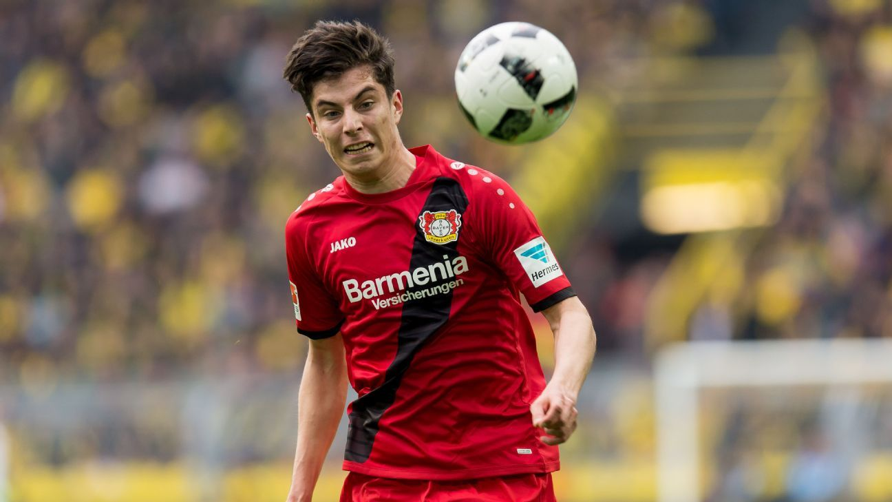 Kai Havertz has committed his future to Bayer Leverkusen by signing a long-term contract with the Bundesliga club.