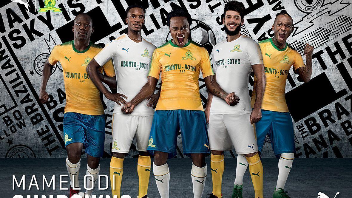 New Mamelodi Sundowns kit for 2017-18 season
