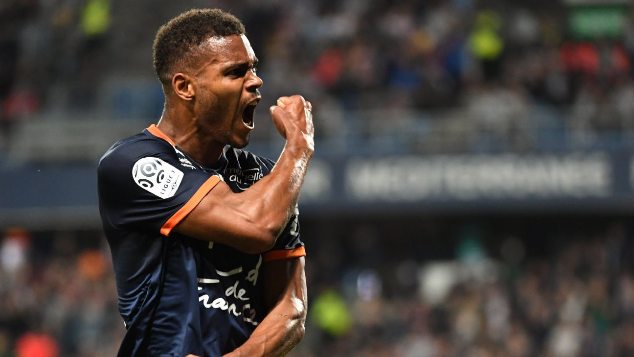 Steve Mounie has joined Huddersfield from Montpellier on a four-year contract.