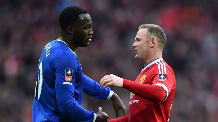 Romelu Lukaku & Wayne Rooney