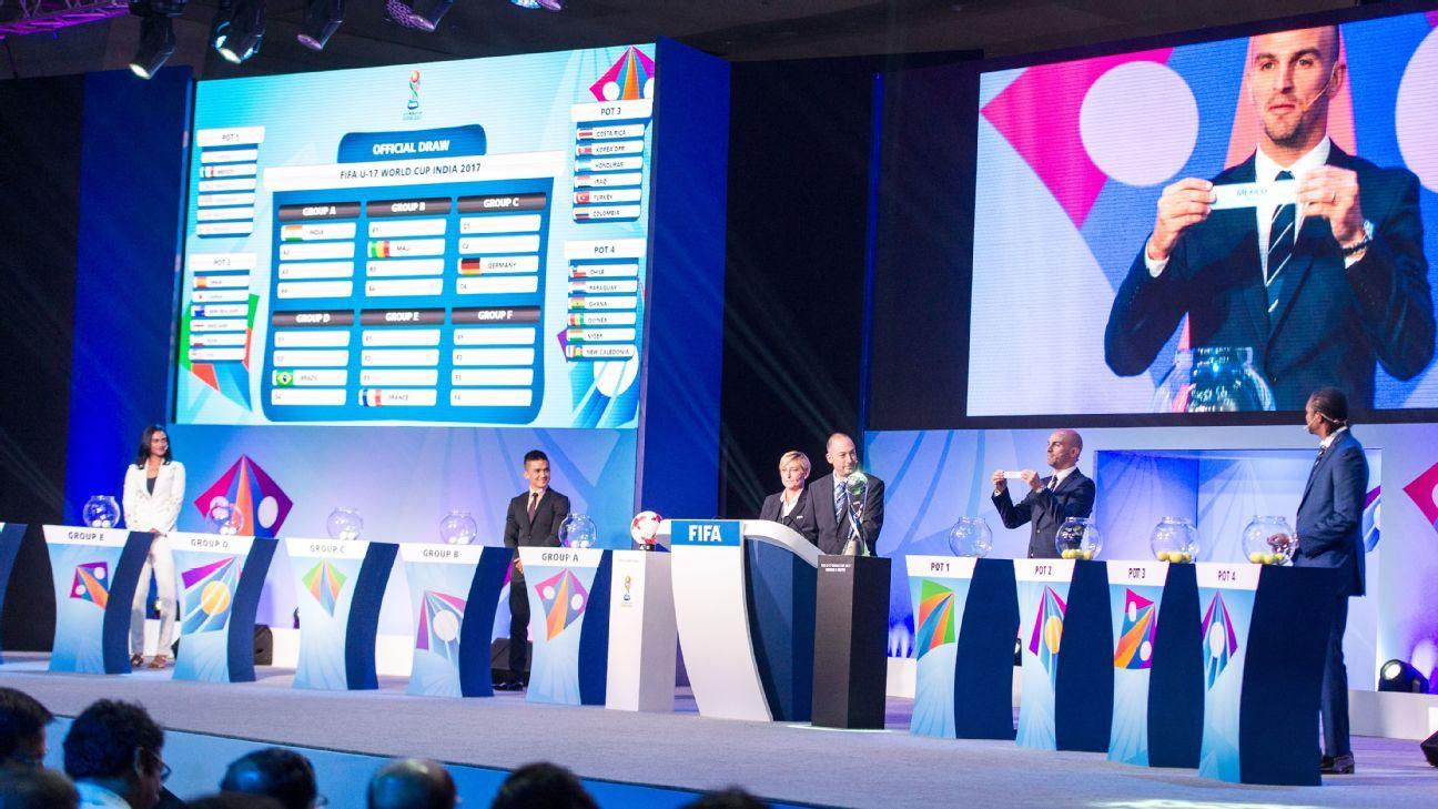 U17 World Cup draw