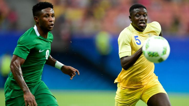 Imoh Ezekiel of Nigeria, Pa Konate of Sweden